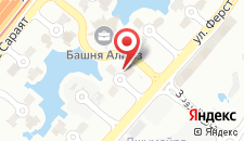 Отель Боннингтон Джумейра Лейкс Тауэрс на карте