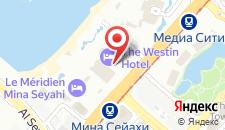 Курортный отель Ле Меридиен Мина Сейахи на карте