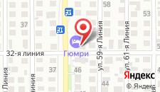 Мини-гостиница Дельфин на карте