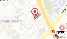 Отель Ramee Rose Hotel на карте