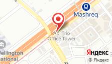 Отель Novotel Dubai Al Barsha на карте