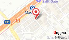 Отель Cassells Al Barsha Hotel на карте
