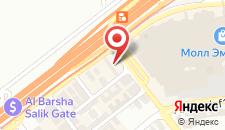 Отель Flora Al Barsha на карте