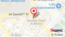 Отель Citymax Hotel Al Barsha на карте