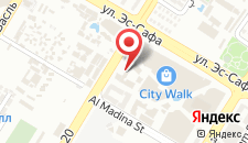 Отель La Ville Hotel & Suites CITY WALK Dubai, Autograph Collection на карте