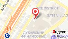 Отель The Ritz-Carlton на карте