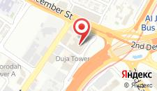 Отель Sheraton Grand Hotel, Dubai на карте