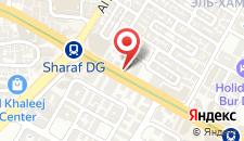 Отель Four Points by Sheraton Bur Dubai на карте