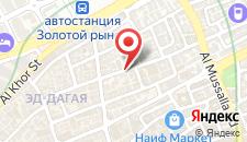 Отель Rahab Hotel на карте
