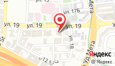 Отель Rove Healthcare City на карте