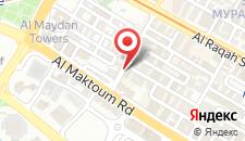 Отель Lavender Hotel на карте
