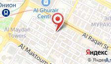 Отель Sun & Sky Al Rigga Hotel на карте