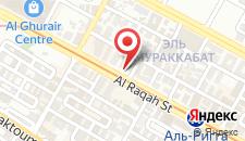 Отель Ibis Al Rigga на карте