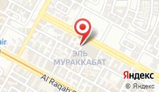 Отель Kings Park Hotel на карте