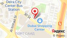Отель Novotel Deira City Centre на карте