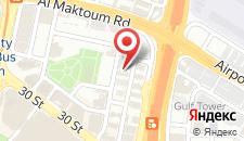 Отель Al Jawhara Gardens Hotel на карте
