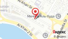 Отель Al Bustan Hotel на карте