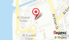 Отель Aryana Hotel на карте