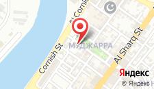 Отель Rayan Hotel Corniche на карте