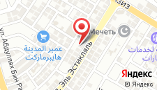 Отель Al Bustan Hotel Flats на карте