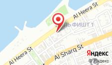 Отель Al Amwaj Hotel на карте