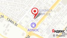 Апарт-отель Alain Hotel Apartments Ajman на карте