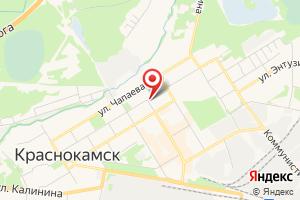 Адрес Газпром межрегионгаз Пермь, территориальный участок в г. Краснокамске на карте