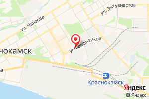Адрес Газпром газораспределение Пермь Краснокамский филиал на карте