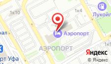 Отель Аэропорт на карте