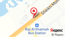 Курортный отель The Cove Rotana Resort - Ras Al Khaimah на карте