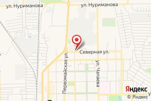 Адрес Электрическая подстанция Северная на карте