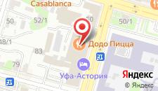 Гостиница Уфа-Астория на карте