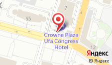 Гостиница Sheraton Ufa на карте