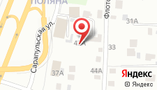 Мини-отель Алмаз на карте