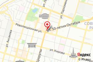 Адрес БашСанТехСтрой на карте