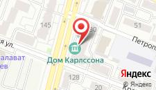 Гостиница Бристоль на карте