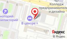 Отель В Центре + на карте