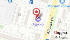 Мини-отель Аджио на карте