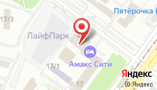 Гостиница Амакс Турист-отель на карте
