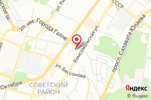 Адрес Башгипроводхоз на карте