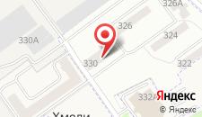 Хостел Мужской хостел Орхидея на карте