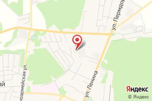 Адрес Электрическая подстанция Чернушка на карте