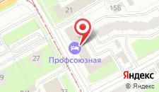 Отель Профсоюзная на карте