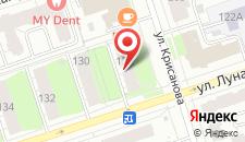 Гостиница-Хостел Меридиан на карте