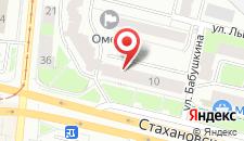 Отель Микос на карте