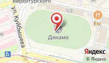 Отель Динамо на карте