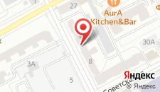 Отель Алберго на карте