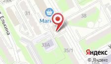 Гостиница City на карте