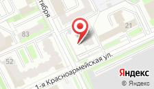 Отель Снегири на карте