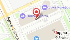 Гостиница Жемчужина на карте